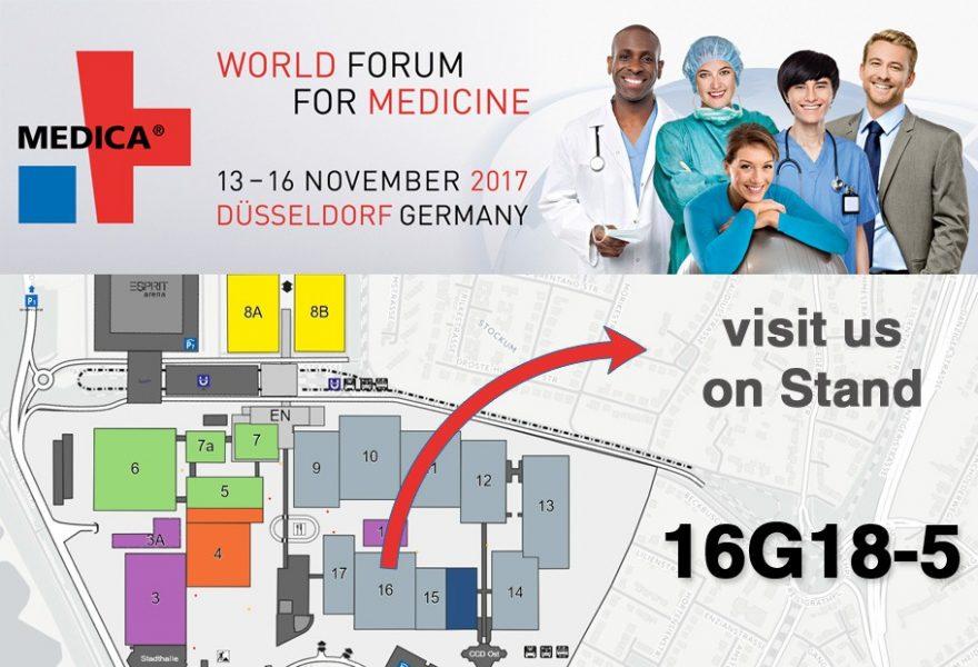 Visit Speed Plastics at Medica 2017 (16G18-5)